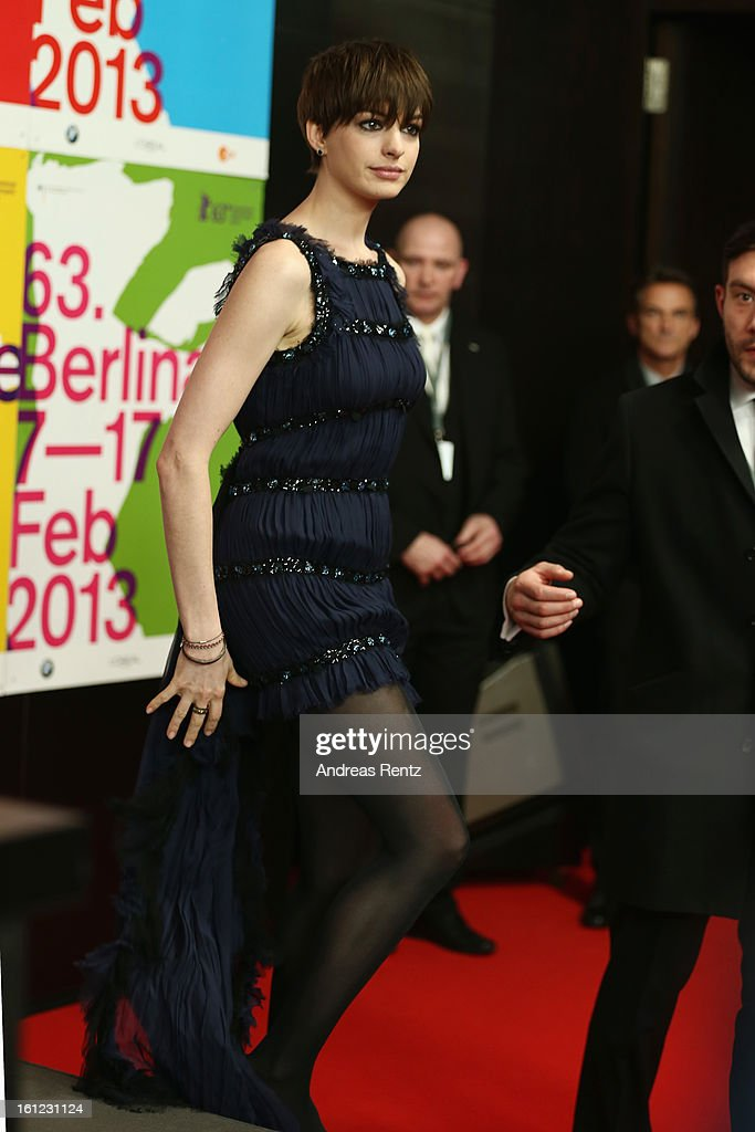 Anne Hathaway attends the 'Les Miserables' press conference during the 63rd Berlinale International Film Festival at Grand Hyatt Hotel on February 9, 2013 in Berlin, Germany.
