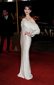 Anne Hathaway attends the World Premiere of 'Les Miserables' at Odeon Leicester Square on December 5 2012 in London England