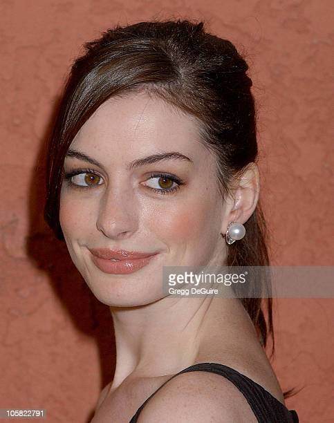 Anne Hathaway during Hollywood Life's Breakthrough of the Year Awards Arrivals at Music Box at the Fonda in Hollywood California United States