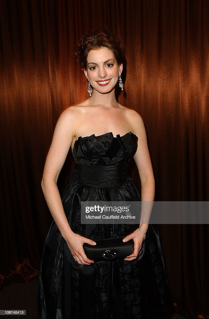 <a gi-track='captionPersonalityLinkClicked' href=/galleries/search?phrase=Anne+Hathaway+-+Actress&family=editorial&specificpeople=11647173 ng-click='$event.stopPropagation()'>Anne Hathaway</a> during The 61st Annual Golden Globe Awards - InStyle/ Warner Bros Golden Globe After Party - Inside at Palm Court at the Beverly Hilton in Beverly Hills, California, United States.