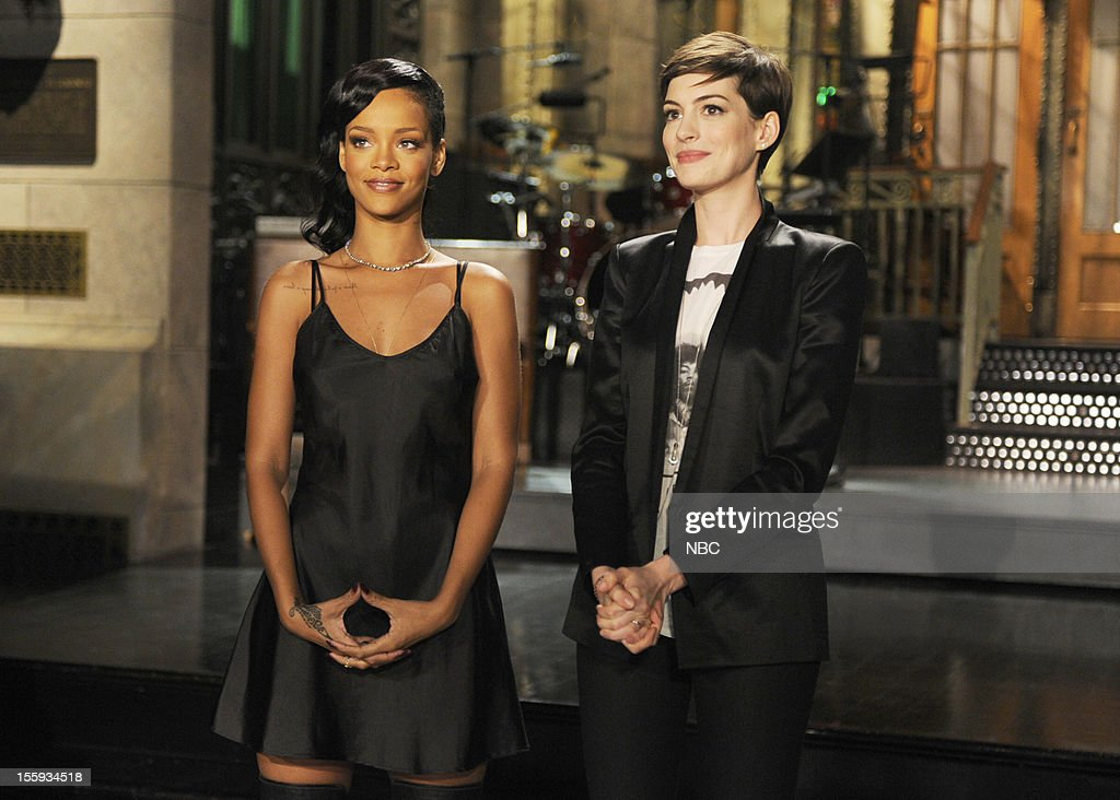 "NBC's ""Saturday Night LIve"" With Anne Hathaway and Rihanna"