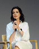 Anne Hathaway of 'The Intern' attends the Meet The Filmmaker series at the Apple Store Soho on September 19 2015 in New York City
