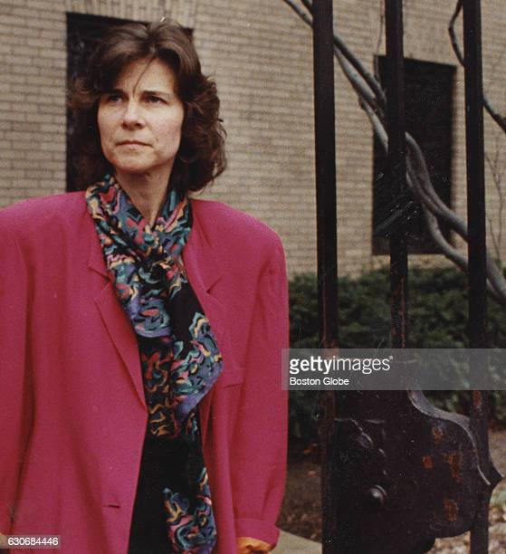 Anne Hawley curator of the Isabella Stewart Gardner Museum in Boston stands at the entrance to the museum on March 21 the first day the museum was...