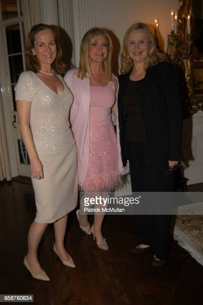 Anne Hearst Kathy Hilton and Cornelia Bregman attend Kathy and Rick Hilton's party for Donald Trump and 'The Apprentice' at the Hiltons' Home on...