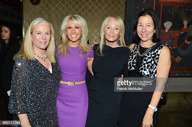 Anne Hearst McInerney Monica Crowley Pamela Gross and Jill Roosevelt attend George Farias Anne and Jay McInerney Host A Christmas Cheer Holiday Party...