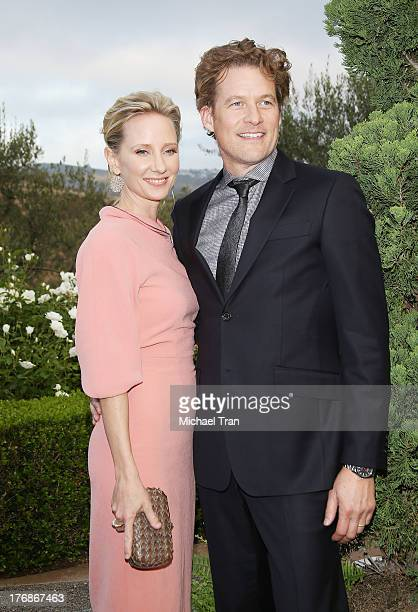 Anne Heche and James Tupper arrive at the 6th Annual Oceana's Annual SeaChange Summer Party held at a private residence on August 18 2013 in Laguna...