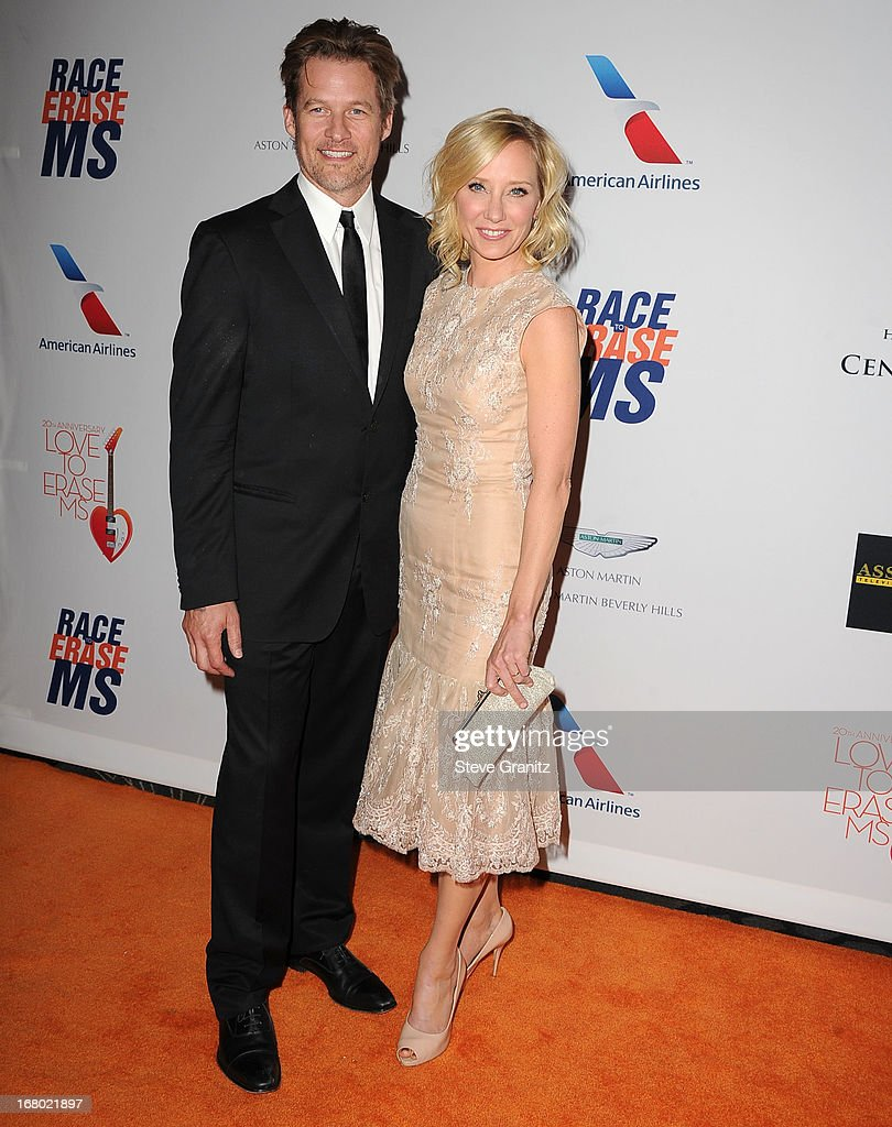 Anne Heche and James Tupper arrives at the 20th Annual Race To Erase MS Gala 'Love To Erase MS' at the Hyatt Regency Century Plaza on May 3, 2013 in Century City, California.