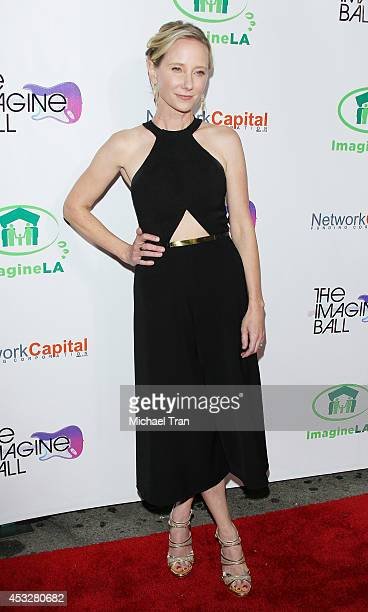 Anne Heche arrives at The Imagine Ball held at House of Blues Sunset Strip on August 6 2014 in West Hollywood California