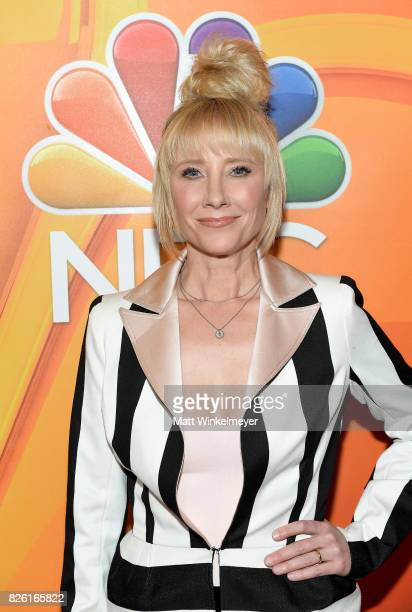 Anne Heche at the NBCUniversal Summer TCA Press Tour at The Beverly Hilton Hotel on August 3 2017 in Beverly Hills California