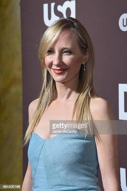 Anne Heche attends 'Dig' Series New York Premiere at Capitale on February 25 2015 in New York City