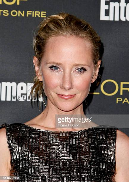 Anne Heche attends Entertainment Weekly's PreEmmy party at Fig Olive Melrose Place on August 23 2014 in West Hollywood California