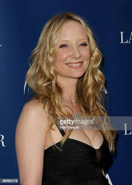 Anne Heche attends Oceana's celebration of World Oceans Day with La Mer at a private residence on June 8 2009 in Los Angeles California