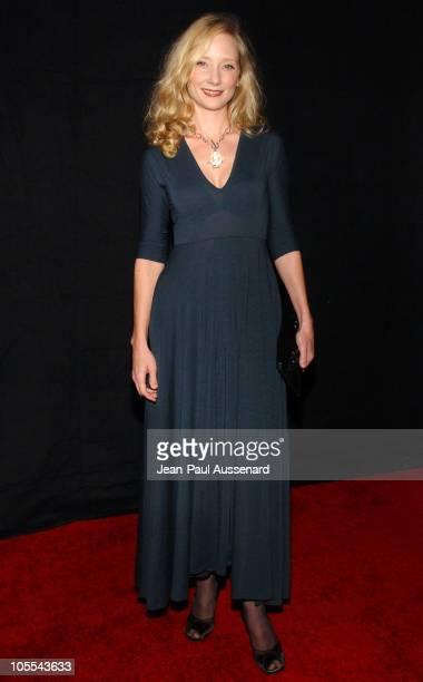 Anne Heche during FX Networks 'Nip/Tuck' 3rd Season Premiere Screening Arrivals at El Capitan Theatre in Hollywood California United States
