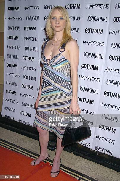 Anne Heche during Gotham and LA Confidential Magazine Anniversary Party Hosted by Kim Cattrall at Gotham Hall in New York City New York United States