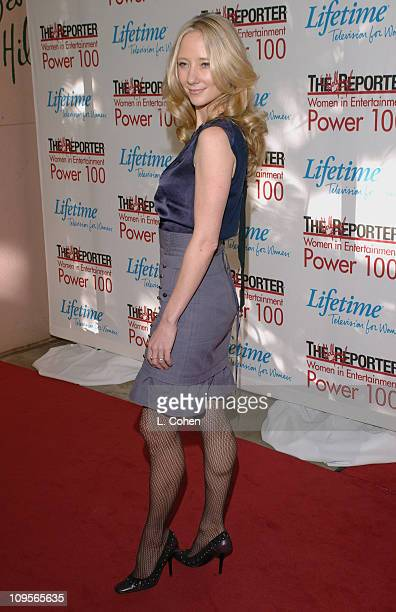 Anne Heche during The Hollywood Reporter's Women in Entertainment Power 100 Breakfast Sponsored by Lifetime Red Carpet at Beverly HIlls Hotel in...
