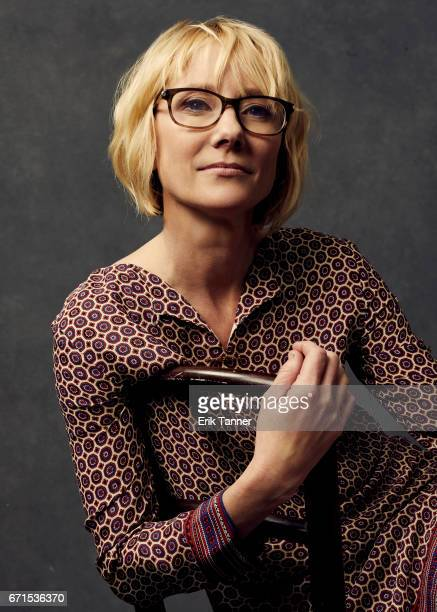 Anne Heche from 'My Friend Dahmer' poses at the 2017 Tribeca Film Festival portrait studio on April 21 2017 in New York City