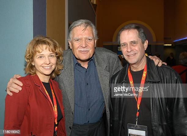 Anne Hubble Michael Ballhaus and Jay Johnston during 2004 12th Annual Hamptons International Film Festival Cinematography Master Class at Easthampton...