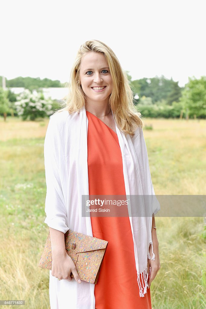 Anne Huntington attend the Midsummer Party 2016 at Parrish Art Museum on July 9 2016 in Water Mill New York