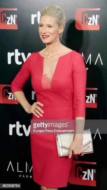 Anne Igartiburu attends 'Corazon' TV Programme 20th Anniversary at Alma club on June 27 2017 in Madrid Spain