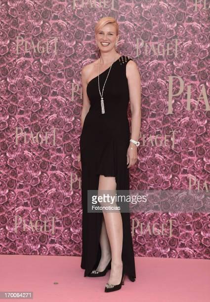 Anne Igartiburu attends Piaget private dinner at Kabuki on June 6 2013 in Madrid Spain