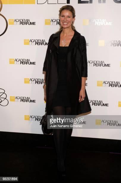 Anne Igartiburu attends the 'Academia del Perfume' awards on November 18 2009 in Madrid Spain