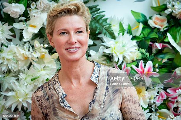 Anne Igartiburu attends the Cosmetic Open Day at 'Camera Studio' on September 16 2015 in Madrid Spain