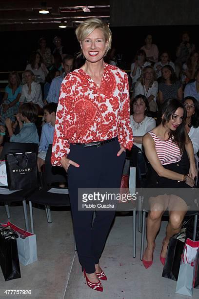 Anne Igartiburu attends the International Fair of Children's Fashion on June 19 2015 in Madrid Spain