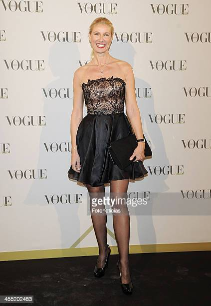 Anne Igartiburu attends Vogue Joyas 2013 Awards at the Palacio de la Bolsa on December 11 2013 in Madrid Spain