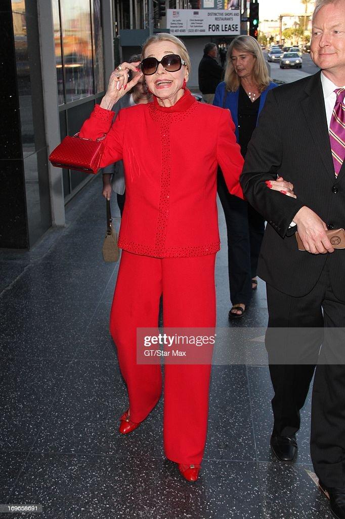 Anne Jeffreys as seen on May 29, 2013 in Los Angeles, CA.