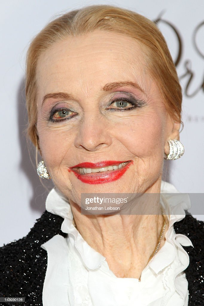 Anne Jeffreys attends the 'The Fields' World Premiere From Breaking Glass Productions Starring Cloris Leachman And Tara Reid at Laemmle's Music Hall Theatre on April 17, 2012 in Beverly Hills, California.