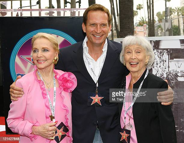 Anne Jeffreys Rex Smith and Betty Garrett during Cole Porter to be Honored Posthumously with a Star on the Hollywood Walk of Fame at 7080 Hollywood...