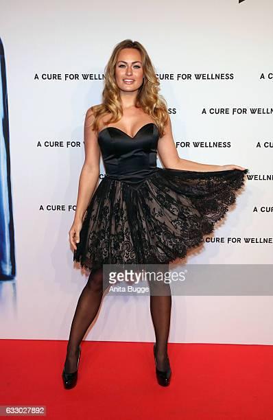 Anne Julia Hagen attends the 'A Cure for Wellness' Berlin premiere on January 29 2017 in Berlin Germany