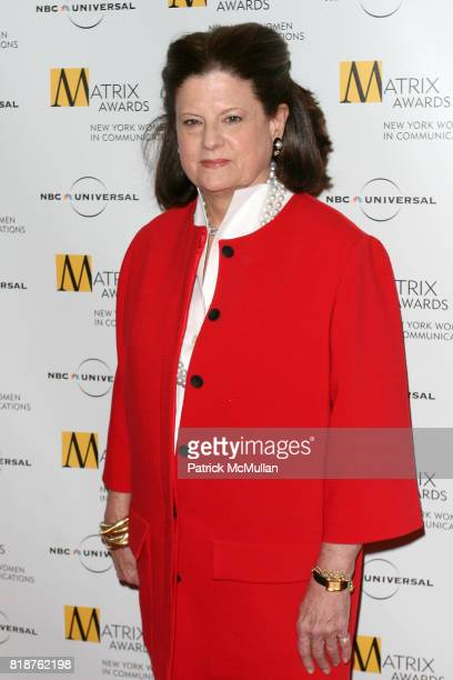 Anne Keating attends New York WOMEN IN COMMUNICATIONS Presents The 2010 MATRIX AWARDS at Waldorf Astoria on April 19 2010 in New York City