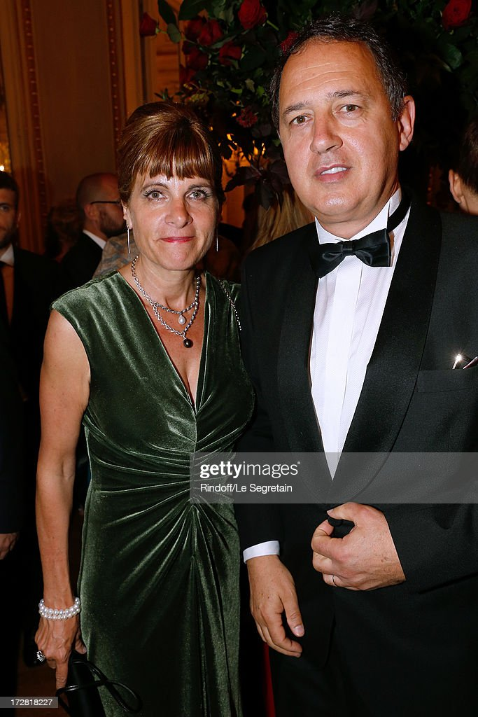 <a gi-track='captionPersonalityLinkClicked' href=/galleries/search?phrase=Anne+Lauvergeon&family=editorial&specificpeople=593162 ng-click='$event.stopPropagation()'>Anne Lauvergeon</a> and her husband Olivier Fric attend Le Grand Bal De La Comedie Francaise held at La Comedie Francaise on July 4, 2013 in Paris, France.