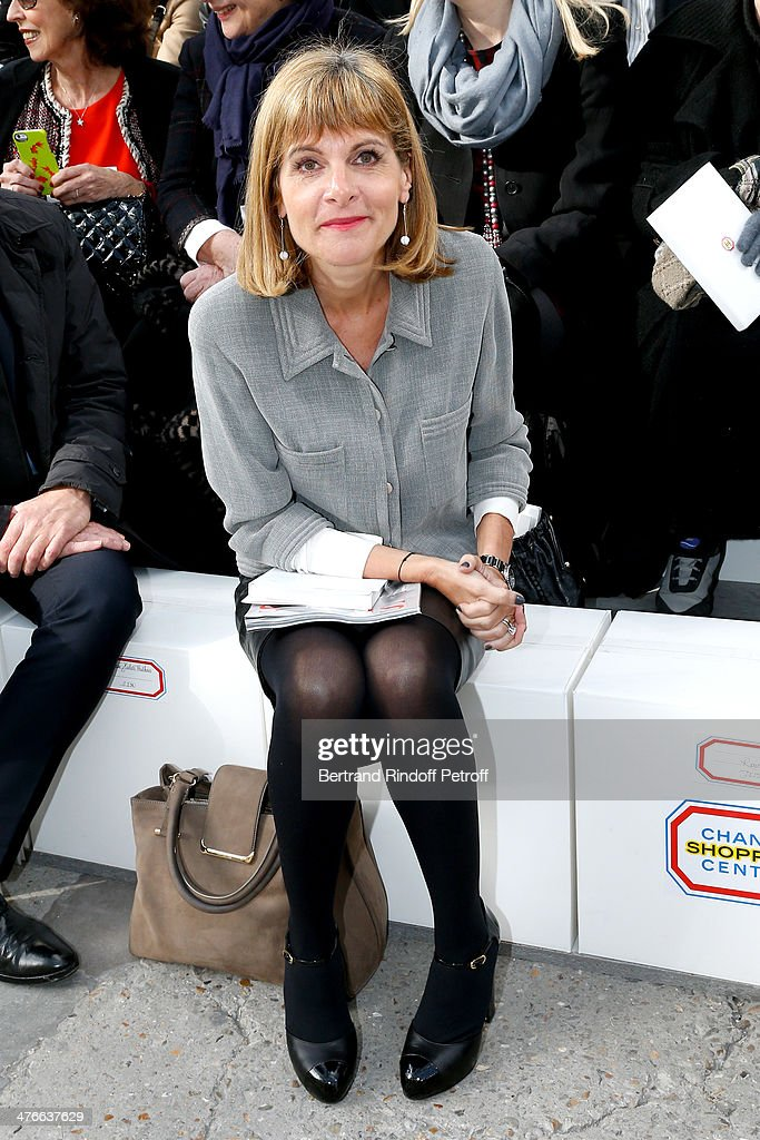 <a gi-track='captionPersonalityLinkClicked' href=/galleries/search?phrase=Anne+Lauvergeon&family=editorial&specificpeople=593162 ng-click='$event.stopPropagation()'>Anne Lauvergeon</a> attends the Chanel show as part of the Paris Fashion Week Womenswear Fall/Winter 2014-2015 on March 4, 2014 in Paris, France.