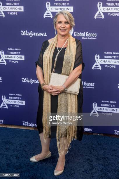 Anne Lawlor attends the Global Genes' 6th Annual Tribute To Champions Of Hope Awards at City National Grove of Anaheim on September 16 2017 in...