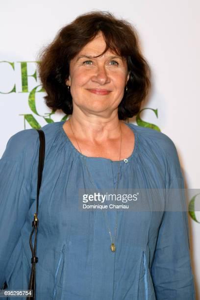 Anne Le Ny attends the 'Ce Qui Nous Lie' Paris Premiere at Cinema UGC Normandie on June 12 2017 in Paris France