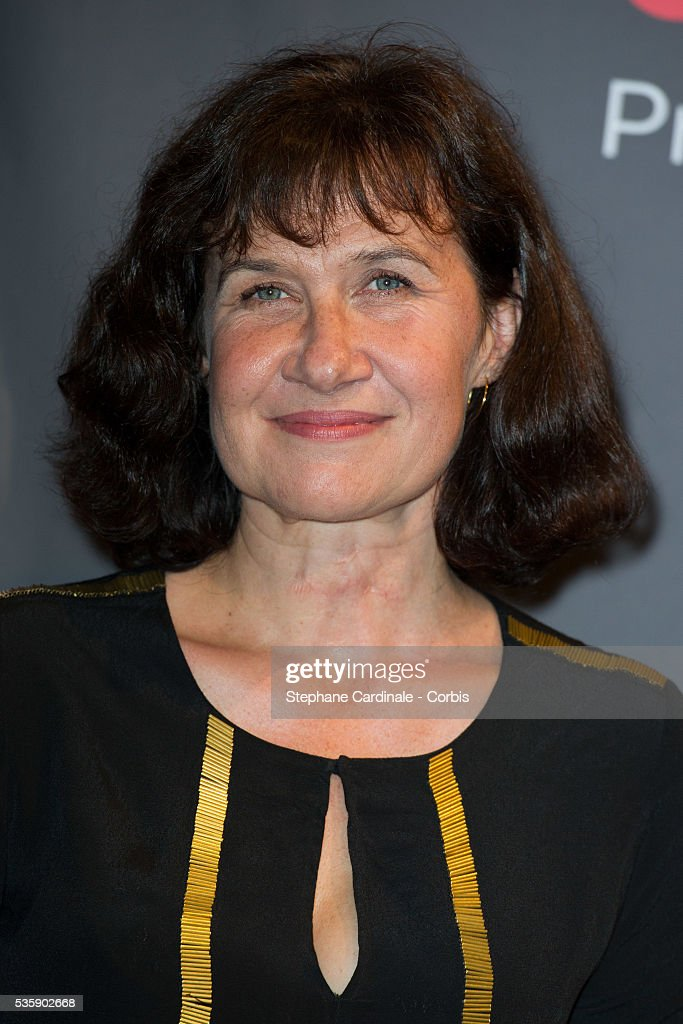 Anne Le Ny attends the Tribute to Quentin Tarantino, during the 5th Lumiere Film Festival, in Lyon.