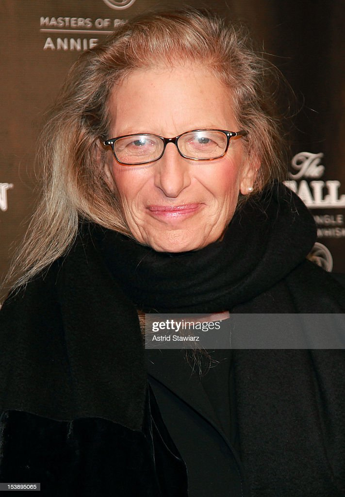 Anne Leibovitz attends The Macallan Masters Of Photography Series at The Bowery Hotel on October 10, 2012 in New York City.