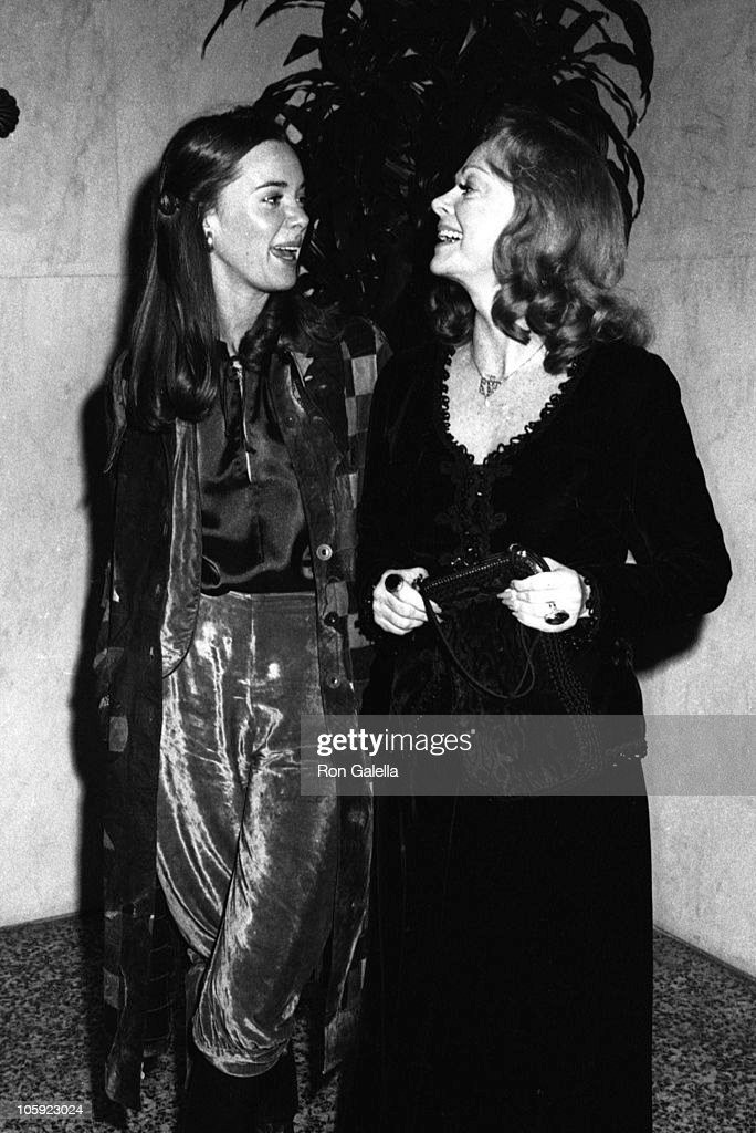 Anne Lockhart and June Lockhart during Academy of Magical Arts Awards - March 3, 1976 at Beverly Wilshire Hotel in Beverly Hills, California, United States.