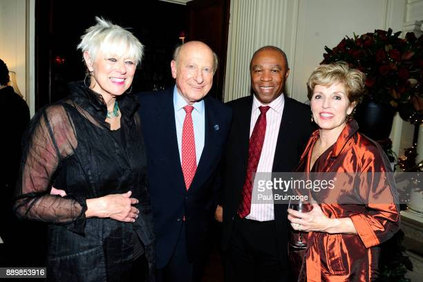 Anne Luzzato Gordon Litwin Martin Karpeh and Julie Karpeh attend the Hackensack University Medical Center Foundation Holiday Party Hosted by Jon...