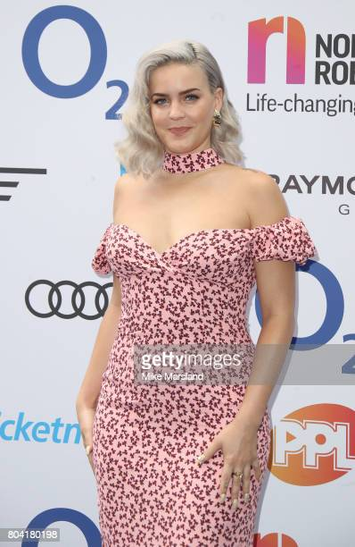 Anne Marie attends Nordoff Robbins O2 Silver Clef awards at The Grosvenor House Hotel on June 30 2017 in London England