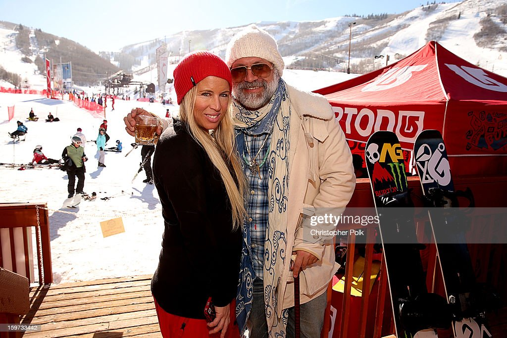 Anne Marie Dacyshyn and Greg Dacyshyn attend Burton Learn To Ride on January 19, 2013 in Park City, Utah.