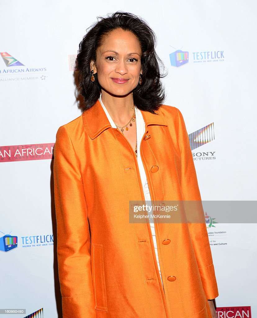 Anne- Marie Johnson attends 21st Annual Pan African Film Festival Opening Night Gala premiere of Vipaka at DGA Theater on February 7, 2013 in Los Angeles, California.