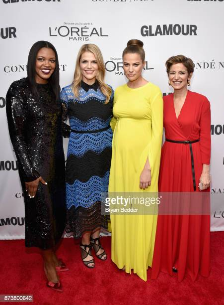 Anne Marie NelsonBogle Alison Moore Cameron Russell and Cindi Leive attend Glamour's 2017 Women of The Year Awards at Kings Theatre on November 13...
