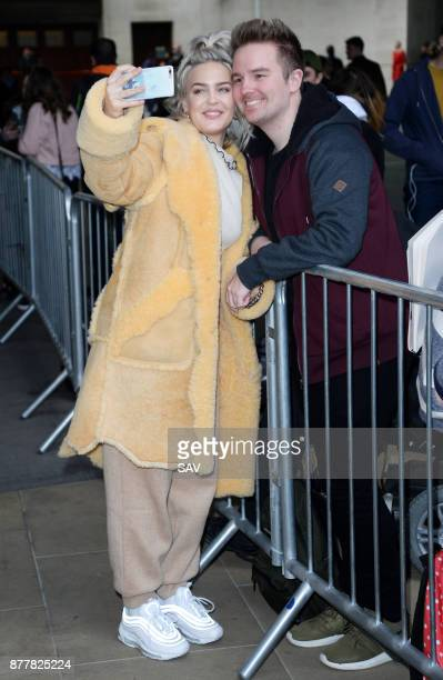 Anne Marie sighting at BBC Radio 1 on November 23 2017 in London England