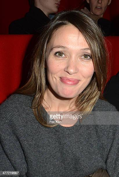 Anne Marivin attends 'Aux Yeux des Vivants' Screening Party At Cinema Gaumont Opera Premier on March 7 2014 in Paris France