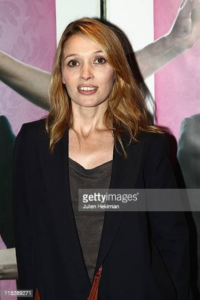 Anne Marivin attends 'Pourquoi Tu Pleures' Paris premiere at UGC Cine Cite des Halles on June 6 2011 in Paris France