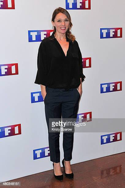 Anne Marivin attends the 'Ce Soir Je Vais Tuer L'Assassin De Mon Fils' Paris Premiere at Cinema Elysee Biarritz on March 24 2014 in Paris France