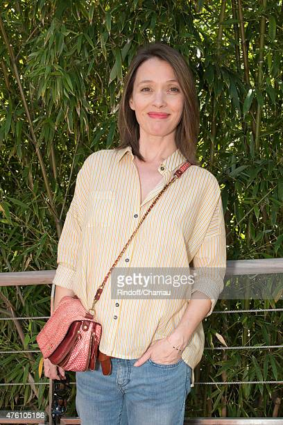 Anne Marivin attends the French Open at Roland Garros on June 6 2015 in Paris France